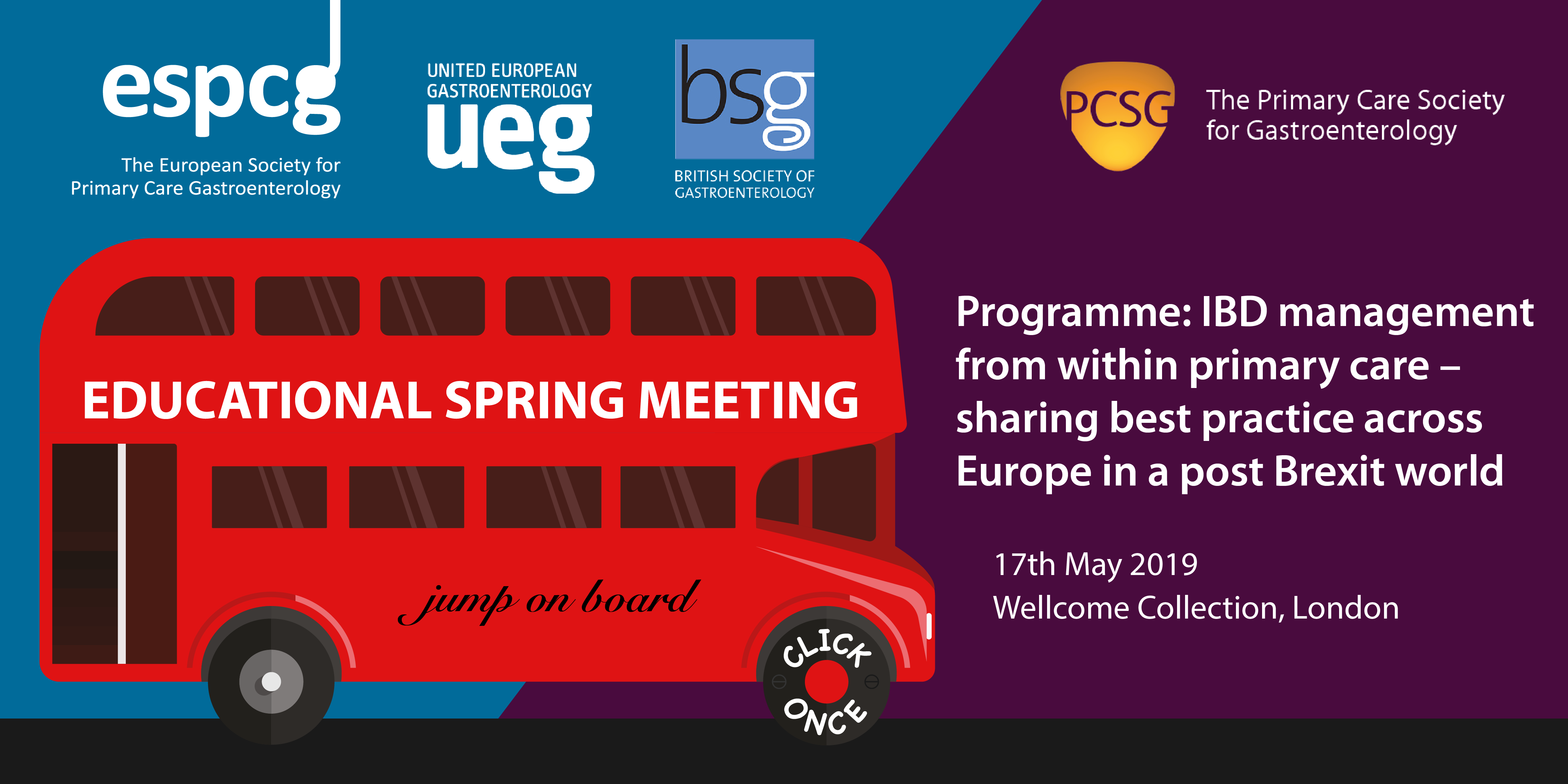 Spring Meeting 2019 Announced – PCSG